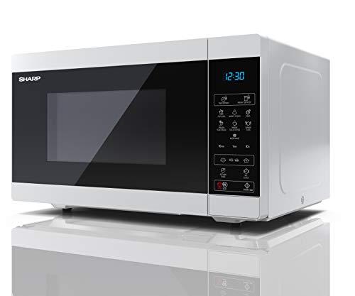SHARP YC-MS51U-W 25L 900W Digital Control Táctil Microondas - Blanco