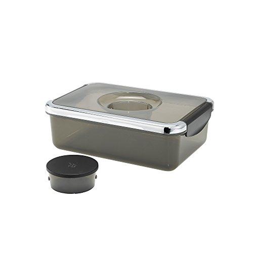 WMF KÜCHENminis Salat-to-go-Box, Salatbox to-go, BPA-frei, inkl. Dressingbehälter, passend für KÜCHENminis Salat-to-go