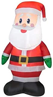 Gemmy 36789 Airblown Outdoor Santa Christmas Inflatable 4 FT TALL