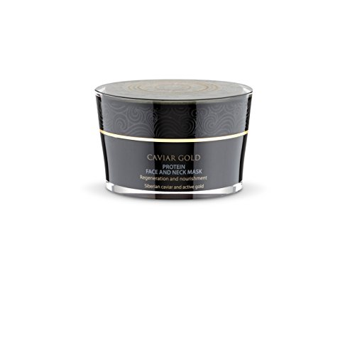 Natura Siberica Caviar Gold Protein Face and Neck Mask, 50 ml