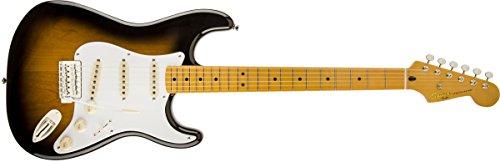 Fender 6 String Solid-Body Electric Guitar, Right Handed, 2-Color Sunburst (0303000503)