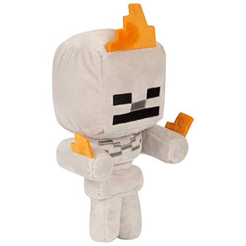 MINECRAFT - Plush Happy Explorer - Skeleton on Fire - 18cm