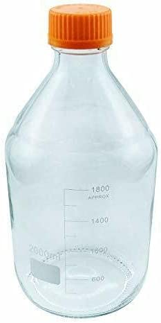 2LRound Jacksonville Mall Media Storage Recommendation Bottles GL45 Cap with Screw