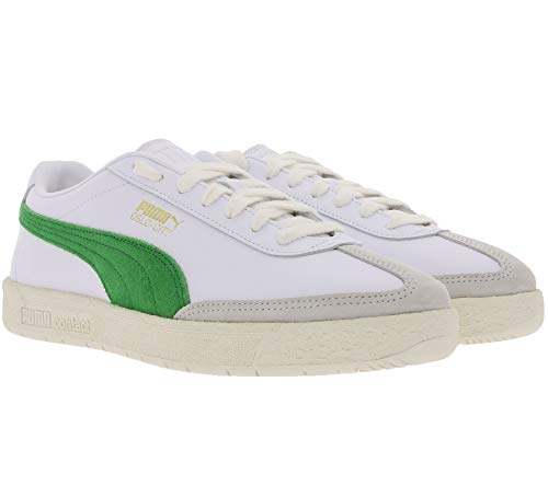 Puma Oslo-City PRM, puma White-Amazon Green, 6,5