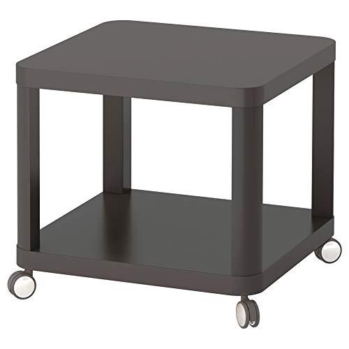 IKEA ASIA TINGBY Bijzettafel op wielen grijs