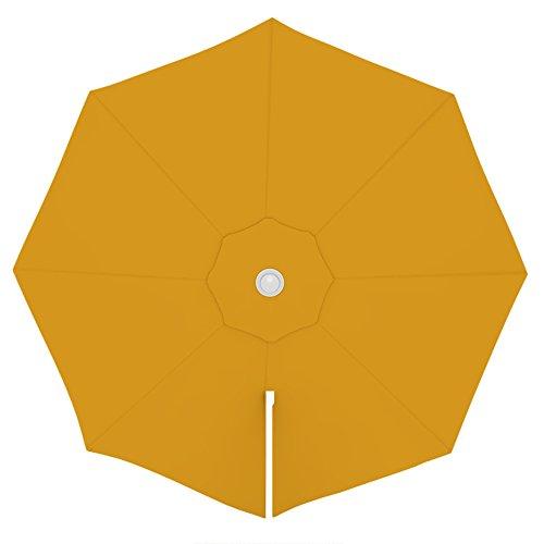 paramondo Sonnenschirm Bespannung Ink. Air Vent für parapenda Ampelschirm (3,5m / rund), gelb