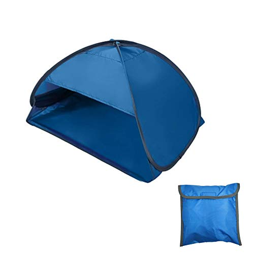 N / A Sun Shelter Pop Up Beach Tent, Portable Automatic Shade Tent, that protection from the sun for the head and face, for Personal Face While Sunbathing