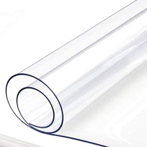 Lona transparente impermeable con ojales, lona transparente de vidrio de PVC de 0,35 mm, cubierta de hojas de plantas de flores de jardín y patio a prueba de lluvia, marquesinas y toldos a prueba de a