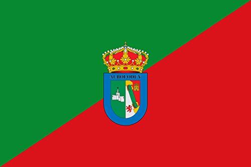 magFlags Bandera XL Municipio de Alboloduy Almería - España Según la descripción | Bandera Paisaje | 2.16m² | 120x180cm