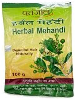 Patanjali Herbal Mehandi 100 gm (pack of 5)