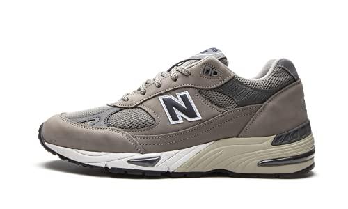 New Balance 991 Sneaker Uomo M991ANI Grey Navy (Numeric_42)