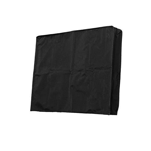 BANGSUN Cubierta impermeable para televisión al aire libre de 30 a 58 pulgadas Oxford negro resistente a la intemperie material