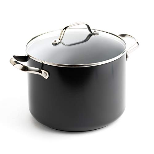 ceramic cookware anodized gray - 7