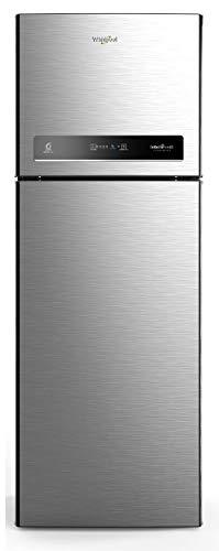 Whirlpool 340 L 3 Star Inverter Frost-Free Double Door Refrigerator (INTELLIFRESH INV CNV 355 3S, German Steel, Convertible)