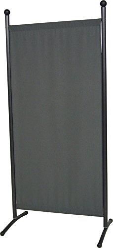 Angerer Stellwand klein dunkelgrau 178 x 82 cm, 606/15