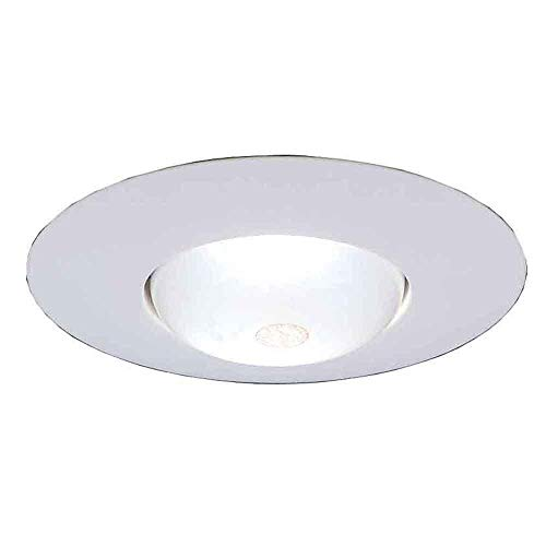 Commercial Electric 6 in. R30 White Recessed Open Trim (12-Pack)