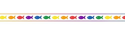 Ursus 59050096 - Masking Tape Fische, ca. 15 mm x 10 m