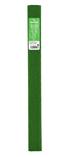 Canson Rouleaux de 10 Papiers crépons 32 g/m² 50 x 250 cm Vert Fougère