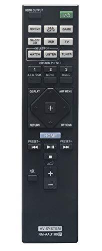 ALLIMITY RM-AAU189 Fernbedienung Ersetzt für Sony 4K AV Receiver STR-DN850 STR-DN1050