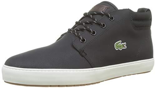 Lacoste Herren Ampthill Terra 319 1 CMA Sneaker, Schwarz (Black/Offwhite 454), 42 EU