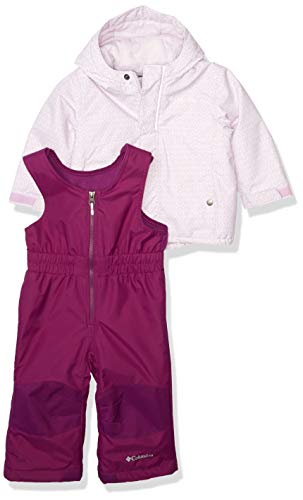 Columbia Baby Girls Buga Set, Pale Lilac Sparklers Print/Pale Lilac, 12/18