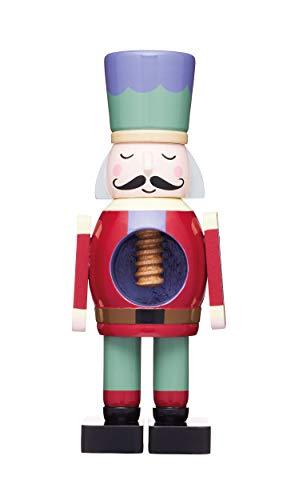 Kitchen Craft KitchenCraft KCXMNUTCRACKER The Collection Weihnachts-Nussknacker Soldat mit echtem funktionierenden Mechanismus, Holz, Mehrfarbig