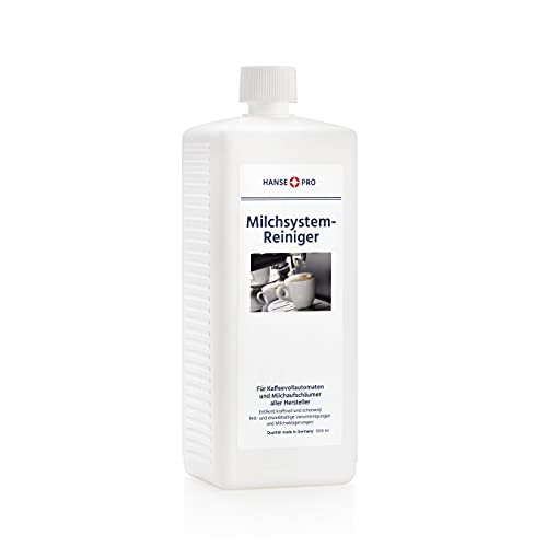 HANSE PRO Milchsystem-Reiniger, 1 x 1000 ml I Milch-Reiniger I Milchschaum-Reiniger I Reiniger für Milchaufschäumer, Kaffeevollautomaten Sahneautomaten