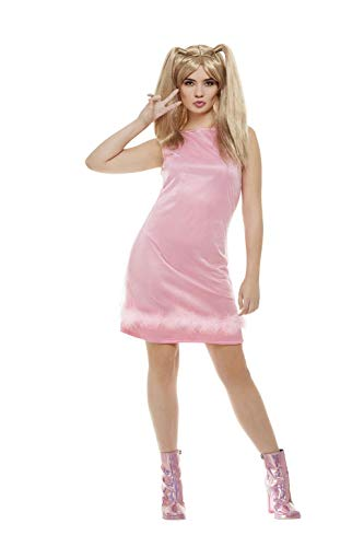 Smiffys Babykostüm 90er Jahre Ikone Kostüm Baby für Damen rosa rosanes Damenkostüm sexy Gr. 36/38 (S), 40/42 (M), 44/46 (L), Größe:L