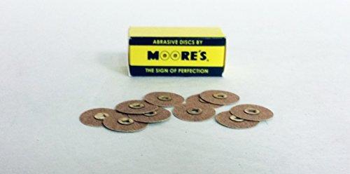 EC Moore BC-34-GF Paper Discs Brass Center 3/4
