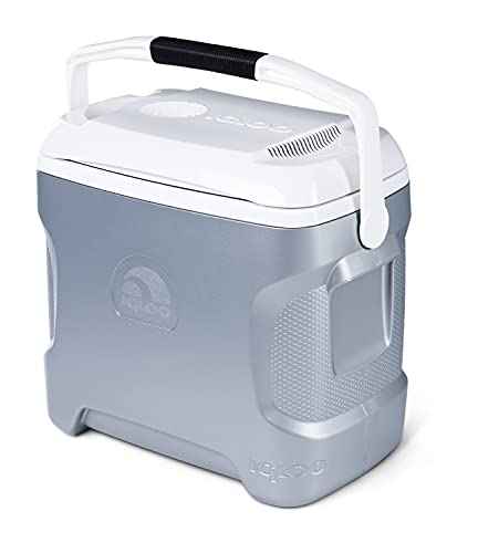 Igloo 28-Quart Thermoelectric Iceless Cooler - (.A Grey)