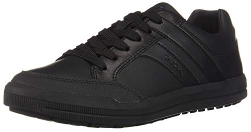 Geox J Arzach Boy D School Uniform Shoe, Schwarz (Black), 35 EU
