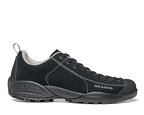 SCARPA Mojito Men's Lightweight Outdoor Shoes for Hiking and Walking - Black - 10.5