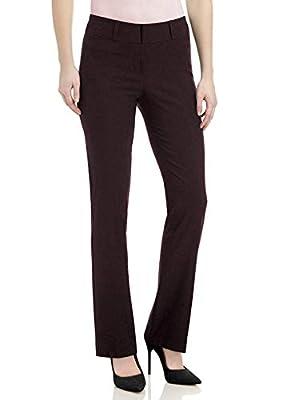 SATINATO Straight Leg Pants For Women Stretch Work Dress Casual Pants