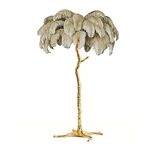 YSVSPRF Lampara de pie Pluma de Rama de árbol de Lujo Moderno nórdico DIRIGIÓ Luces de Piso iluminación de lámparas de pie de Alto Rango para decoración de Sala de Estar Decoración de la habitación