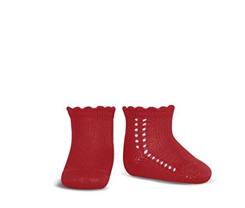 Condor 2569/4, Calcetines para Bebés, Rojo (Rojo 550), 12-18 meses (Talla fabricante:1)