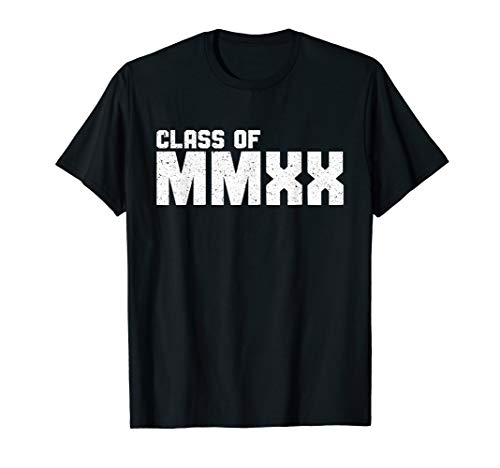 Class Of MMXX T-Shirt Senior 2020 Graduation Gift Shirt T-Shirt