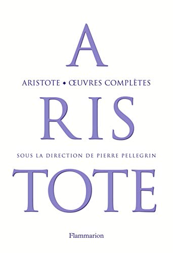 Aristote : Oeuvres complètes