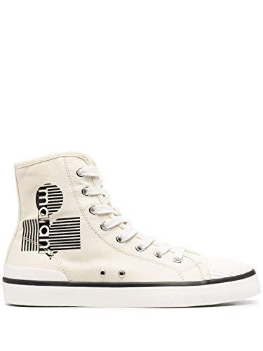 Isabel Marant Luxury Fashion Damen BK019021P033S20CK Beige Baumwolle Hi Top Sneakers | Jahreszeit Permanent