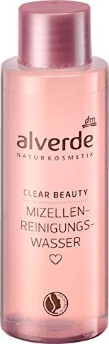 Mizellen-Reinigungswasser - NATURKOSMETIK - Klärt und reinigt die Haut auf sanfte Weise - Mit Hamamelis-Wasser und Trauben-Extrakt - 100 ml
