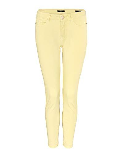 OPUS Damen Elma 7/8 Colored Jeans, Fresh Lemon, 40