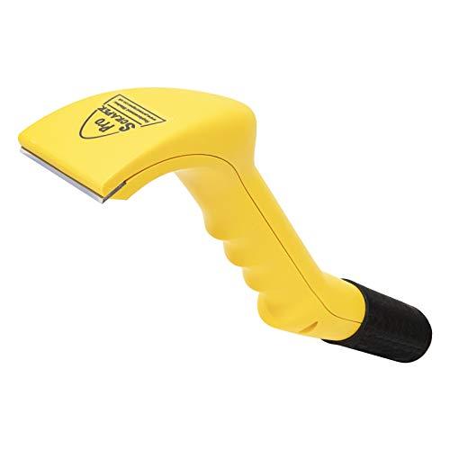 Gelplane Vakuum Schaber / Antifouling Entferner Abstreiber | Mit Staubabsaugung | Entfernt auch Farbe