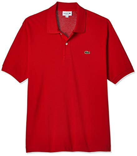 Lacoste Herren Poloshirt L1212, Rot (Rouge), XL
