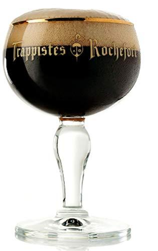 Bicchiere originale da birra belga Trappistes Rochefort 33 cl