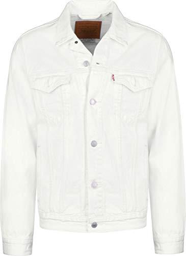 Levi's® Trucker Jacket, Herrenjacke gefüttert, White Out, Größe M