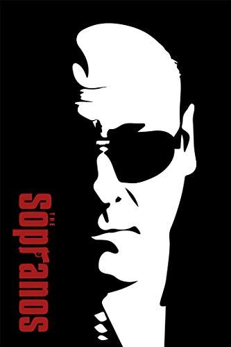 SICHYUAN Tony Soprano Sunglasses Art Wall Indoor Room Poster - Water Resistant Poster (Size: 24' x 36')