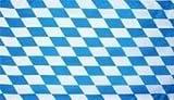 Flagge Fahne Bayern kleine Rauten 90x60 cm wetterfest und lichtecht für innen und aussen