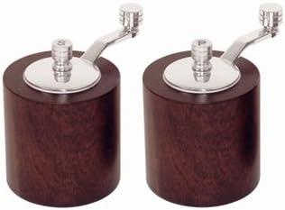 WIN-WARE store Salt and Pepper Mil Shaker Set. Grinder Max 59% OFF Stylish Design