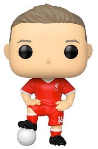 Funko - Pop! Football: Liverpool - Jordan Henderson Figura De Vinil, Multicolor (42788)