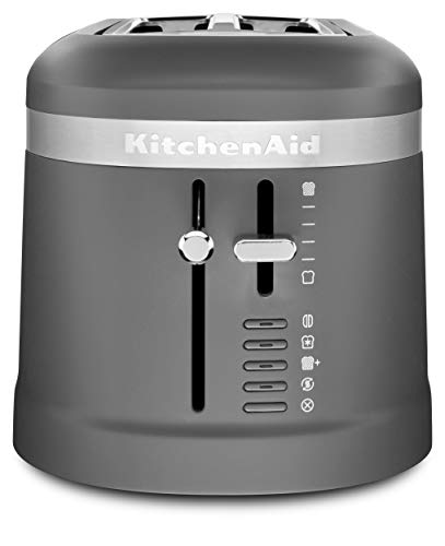 KitchenAid KMT5115DG Long Slot Toaster, 4 Slice, Matte Charcoal Grey