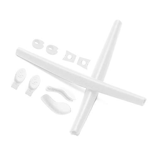 Ohrsocken und Nasenpolster für Oakley Juliet Sonnenbrille, Weiá (White Rubber Kits), Einheitsgröße